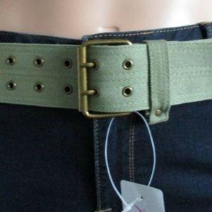 Torrid Army Green Belt